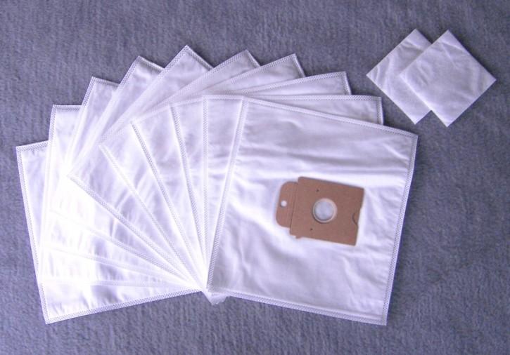 10 Staubsaugerbeutel für Siemens Big Bag 3 L VS 01 E 000 - 999