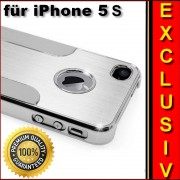Aluminium - Chrome Hard Case für iPhone 5S