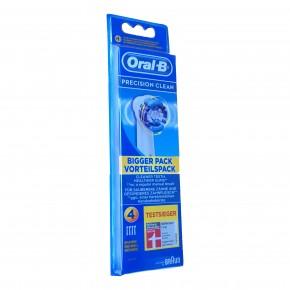 4 Oral B Precision Clean Aufsteckbürsten Original Ersatz Bürsten